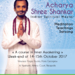 Meditation Workshop with Acharya Shree Shankar – A Course in Inner Awakening